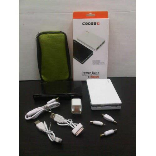 Kelengkapan Power Bank Cross 12800 mAh